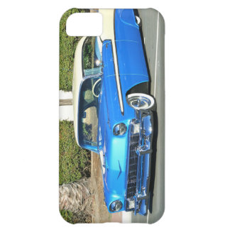 Classic blue car cover for iPhone 5C