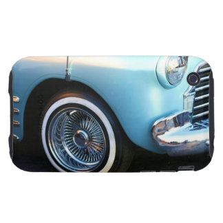 Classic blue car tough iPhone 3 cases
