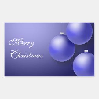 Classic Blue ornaments Sticker