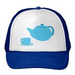 Classic Blue Teapot Hats