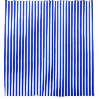 Classic Blue White Stripe Pattern