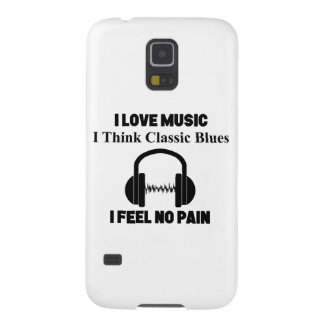 Classic Blues Case For Galaxy S5