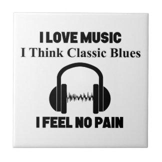 Classic Blues Tile