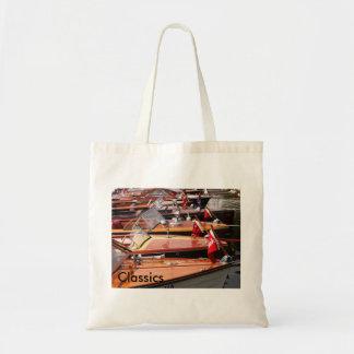 Classic Boats Tote Bg. Budget Tote Bag