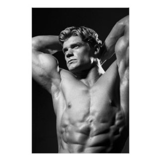 Classic Bodybuilder Poster