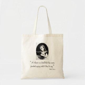 Classic Book Tote Bag