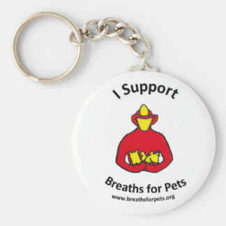 Classic Breaths for Pets Logo Keychain