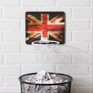 Classic British flag Mini Basketball Hoop