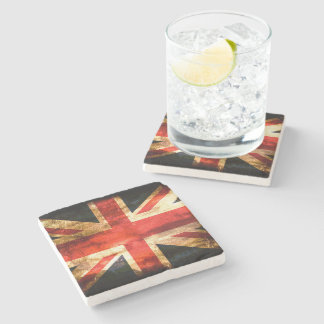 Classic British flag Stone Coaster