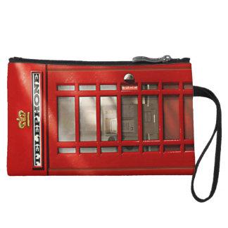 Classic British Red Telephone Box Accessory Bag