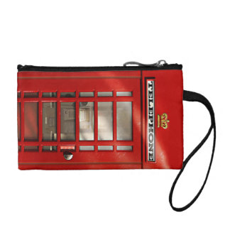 Classic British Red Telephone Box Coin Purse