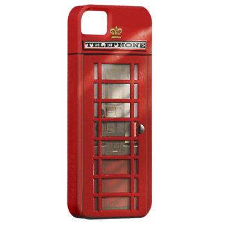 Classic British Red Telephone Box iPhone 5 Case