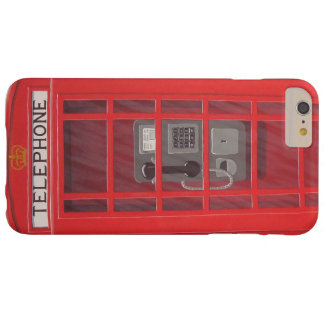 Classic British Red Telephone Box iPhone 6 Plus Barely There iPhone 6 Plus Case