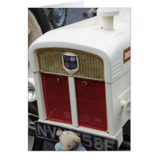 Classic British Tractor Card