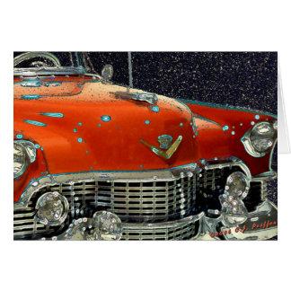'Classic Caddy' Card