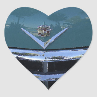 Classic Cadi Heart Stickers