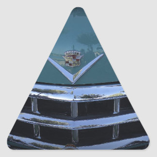 Classic Cadi Triangle Sticker