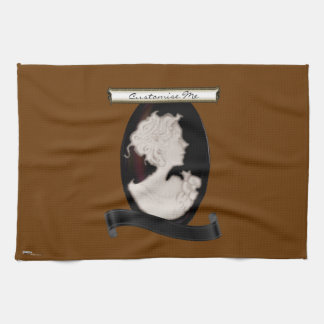 Classic Cameo (Ivory/Brown) Kitchen Towel