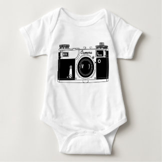 Classic Camera Baby Bodysuit