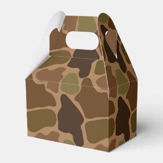 Classic Camo Camouflage Favor Box