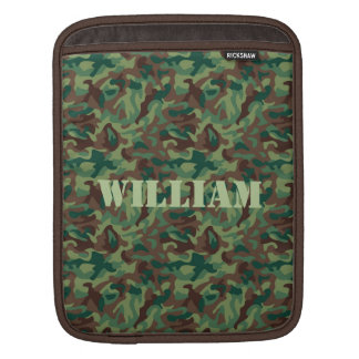 Classic Camo Pattern iPad Sleeves