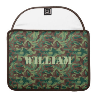 Classic Camo Pattern MacBook Pro Sleeve