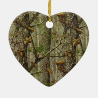 Classic Camouflage Ceramic Ornament