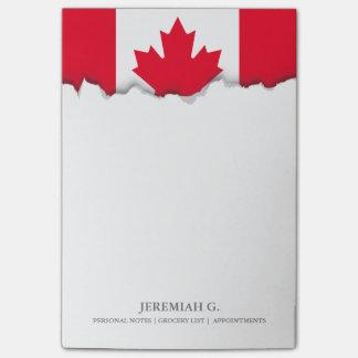 Classic Canada Flag Post-it Notes