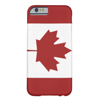 Classic Canadian Barely There iPhone 6 Case