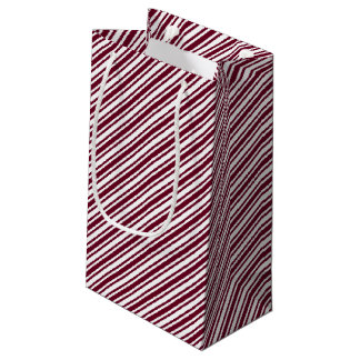 Classic Candy Cane Stripe Small Gift Bag