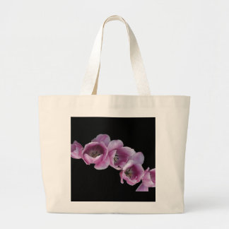 "Classic Canvas Bag, ""A Wave of Purple Tulips"" Large Tote Bag"
