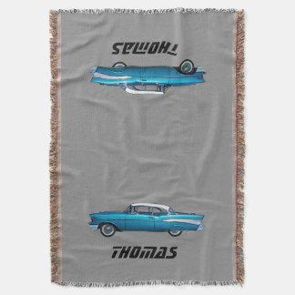 Classic car 1957 Chevy BelAire custom blanket