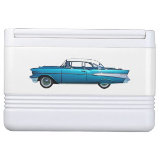 Classic car 1957 Chevy BelAire custom cooler