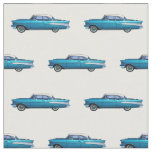 Classic car 1957 Chevy BelAire Fabric