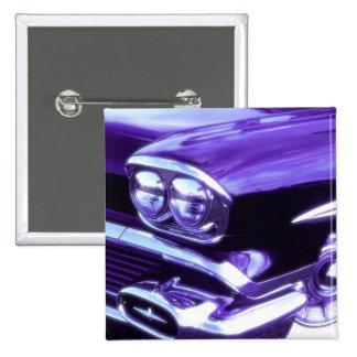 Classic car: 1958 Chevrolet 2 Inch Square Button