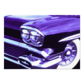 Classic car: 1958 Chevrolet Photographic Print