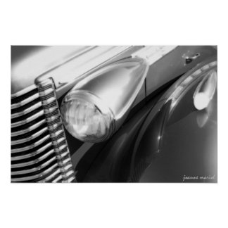 Classic Car 1 Poster Print