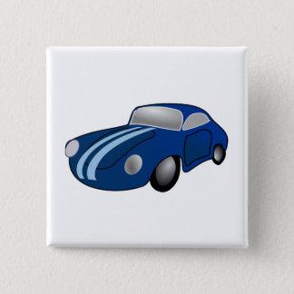 Classic Car 2 Inch Square Button