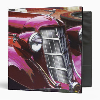 Classic car: Auburn 3 Ring Binders