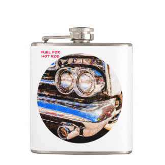 Classic Car Beauty Hip Flask