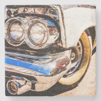 Classic Car Beauty Stone Beverage Coaster