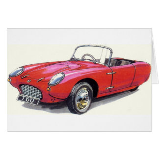 CLASSIC CAR BERKELEY T60 CONVERTIBLE CARD