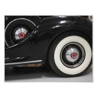 Classic Car Black car photo print