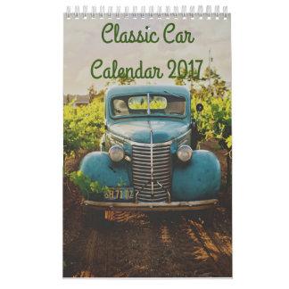 Classic Car Calendar 2017