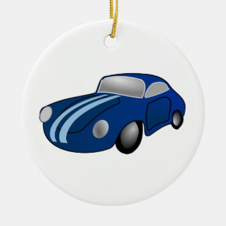 Classic Car Ceramic Ornament