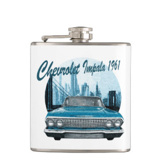 Classic Car Chevrolet Impala 1961 Hip Flask