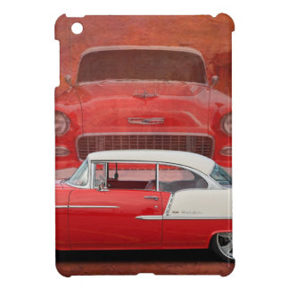 Classic Car Chevy Bel Air Red Vintage Oldtimer Case For The iPad Mini