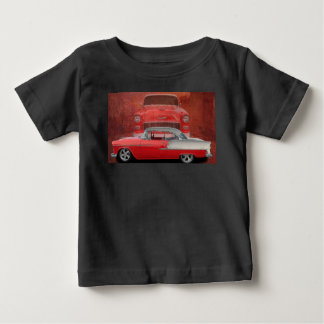 Classic Car Chevy Bel Air Red White Vintage Dodge Baby T-Shirt