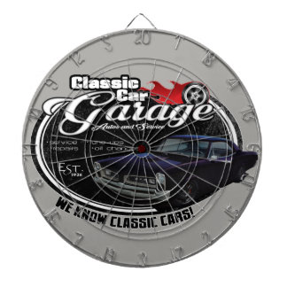 Classic Car Custom GTO Garage Dartboard