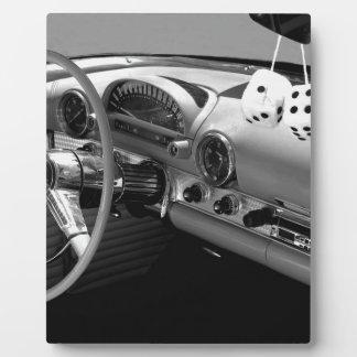 Classic Car Design Plaque
